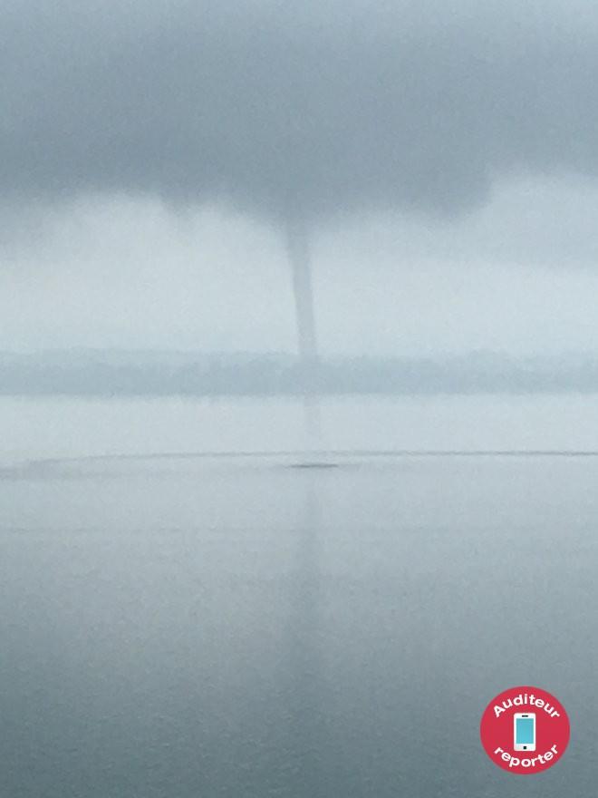 Tombe d eau sur le lac rtn votre radio r gionale - Trombe d eau ...