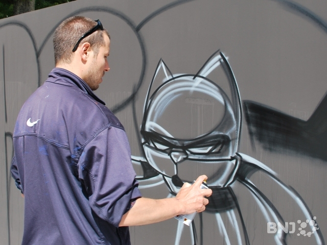 Graffitis au jardin anglais rtn votre radio r gionale for Jardin anglais neuchatel